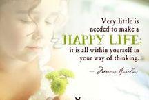 Positive thoughts / Positiivinen psykologia / Positiivisia ajatuksia