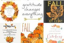Fall / A collection of all things Fall...  Recipes, decorations, activities, and more.