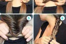 haj, szépségápolás