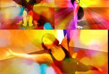 Aerial Yoga / Aerial yoga and aerial silk