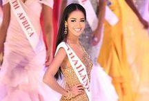 Miss World / Miss Universe / Miss etc. / The beautiful women of pageants.
