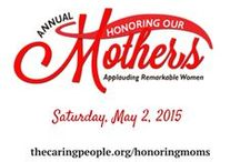 Honoring Our Mothers...Applauding Remarkable Women / #honormoms