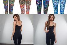 Yoga Wear / Unconventional and stylish alternatives to the average yoga clothing