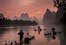 Azië / Raak geïnspireerd door het grootste werelddeel van de aarde. Vol met prachtige en geheime plekjes waar niemand ooit tevoren is geweest.