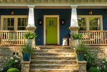 Curb Appeal / Inexpensive and creative ways to make your home look more valuable!
