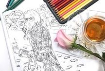 Best Coloring Pages / The best coloring pages that I love from some amazing creatives. A collection of the best free and printable pages you'll find online. I also create a few coloring pages I've share on this board, but it does feature the best free coloring pages I've found online. You can go to the pin and follow the pins to the websites with your favorite coloring pages themes. A great way to relax at the end of the day is to color away! #bestcoloringbooks #coloringpages #bestcoloringpages