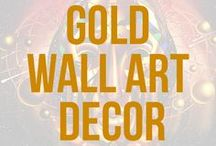 Gold Wall Art Decor   Kenal Louis / Gold paintings and gold in art illustrations, traditional artwork, and digital Painting. The gold wall art and prints are a representation of elegance and luxury. Inspired by art deco and the art nouveau period in art. A black and gold, red and gold, and white and gold themed art collection. All of the paintings have an accent of gold or element of gold withing their composition. Please repin your favorite artworks. Visit www.kenallouis.com for more art #goldwallart #goldart #goldartdecor