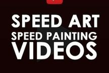 Speed Art Videos   Kenal Louis / The following are a few of my speed art videos and the progression of artworks as I create them. Just click on the pin you see and it will take you to the Youtube video for that artwork or video tutorial. I will be adding the best Youtube speed painting videos and tutorials is found helpful. #youtube  #speedart #speedartvideos