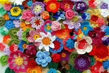 Knitting - crochet / flowers, wearables and anything that doesn't fit onto the other boards :-) Mostly crochet, mixed in with a bit of knitting / by Veronique Blommaart