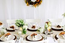 """Dinner Party Inspiration / It may be the best excuse to gather family or friends. Whether you're celebrating something special or getting together """"just because,"""" set the table and set the tone for a fabulous night. Send invitations from www.postmark.com!"""