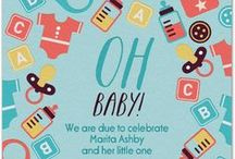 Baby Showers / A new mom deserves a shower of love and all things to help with the new arrival. Let your celebration begin with Evite Postmark. Find invitations for all things baby, elegant, classic or cute, at http://www.postmark.com/baby-shower-invitations/