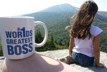 #Wor1ds Greatest Boss / Have fun and help raise money for a worthy cause. Simply purchase a Wor1ds Greatest BOSS mug from Boss Office Works for $7.99. $1 from each sale will be donated to the American Parkinson Foundation, a cause close to our hearts.   Once a week, or whenever we get around to it, we'll have a Where's the BOSS Contest. We'll take a photo of the mug somewhere in the Vermont area. The first person to correctly identify where the photo was taken will win a prize!