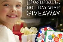 Holiday Wish Sweepstakes  / Share and pin your holiday wish with #PostmarkWish for a chance to win $1,000 and premium cards from Evite Postmark! Visit facebook.com/evitepostmark for details