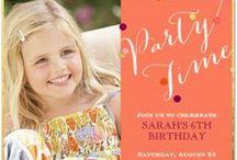 Kids Birthday / Make their dreams come true for a day! http://www.postmark.com/kids-birthday-party-invitations/