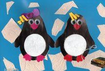pinguin / Thema pinguïn bij kleuters