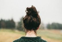 Top-Knot / Great looks and styling tips on how to create the perfect Top-Knot!