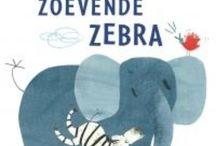 Boek : Zoevende zebra