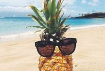 Pineapple Lovin' / All things pineapples for the pineapple obsessed gal like myself. || My personal blog: www.livelaughlinda.com || Pineapples, Tropical, Photo Inspiration