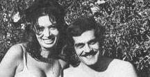 Omar Sharif & Rika Diallina