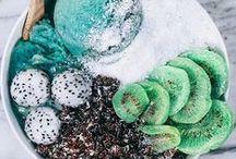 ••instagram inspo•• / Inspiration: smoothie bowls, smoothies, nice cream, Buddha bowls