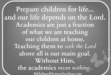 Home Education / Phil. 4:13 ) I can do all things through Christ who strengthens me. Deuteronomy 4:9) Teach what you've seen and heard to your children and grandchildren....... Proverbs 22:6 ) Train up a child in the way he should go: and when he is old, he will not depart from it. / by Blessed Brenda