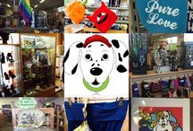 Store Pics & Thrifting Finds / Pics of our two non-profit thrift stores and great thrift finds within!
