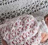 Infant Crochet Patterns / Beautiful infant crochet patterns to work up for your next baby, baby shower gift or for service to your local hospital or shelter.  Blankets, Hats, Dresses, Photography props, Sweaters, sandals, booties and more