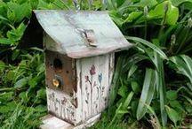 BIRDBATH / FEEDERS & HOUSES / by Vicki Van Tassel