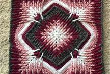 All Things Granny Crochet / Find a fun variety of Crochet square patterns to help you whip up a beautiful afghan in no time!  Granny Squares can be fun!