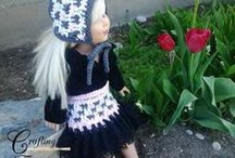 """Doll Crochet Patterns / Dress up your 18"""" or American Girl sized dolls with a fun variety of doll crochet patterns!"""