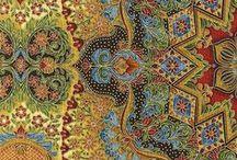 Furnishing fabrics, wallpapers, tkaniny obiciowe, tapety