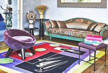 "(1) Color & eclecticism / Inspiring photos of both eclectic & colorful inspirational interior design - All my previous pins of this board have been moved to the board "" (2) Color & eclecticism "" which is complete and you can also visit. ""(3) Color & eclecticism"" just started"