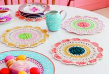 Crochet | doilies & pothoulders