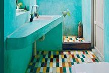 Bathrooms / Fabulous unique refreshing bathrooms & powder rooms