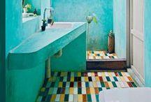 Bathrooms / Fabulous unique refreshing bathrooms & powder rooms