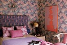Adult bedrooms / Beautiful, eclectic, colorful, romantic, bohemian, moody bedrooms ( master & guest bedrooms)