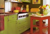 Cooking spaces / Gorgeous kitchens that enhance your appetite & cooking skills