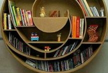 Bookcases & shelves / Stunning bookshelves become the focal point of a room