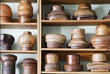 Collecting & displaying / All kinds of collections shown off & exhibited on walls, shelves, bookcases etc. becoming part our home decoration