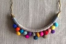Necklaces / Creative, colorful, ethnic, bizarre necklaces