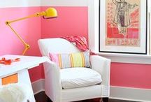 Everything is better in pink / Using pink in decoration