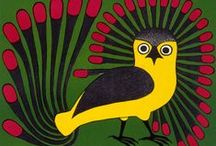 Owl (art) objects / Owls symbolize wisdom & intelligence. Discover them in home decoration, art, fashion!