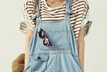 Overalls stylish / Classy chic outfit