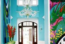 Exotic | Tropical / Indian, Indonesian, Thai, Polynesian, Hawaian, Caribbean, Palm Beach influence in decoration plus exotic color & pattern of the tropics. Some British colonian style too...