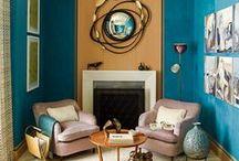 ΕΣΤΙΑ   Εστία / Εstia was the goddess of home & family in Greek mythology; the fireplace was her symbol, the heart of  home where the fire burns, warms, feeds & gathers the family!  So this is a bοard about beautiful, inviting, cosy fireplace areas.