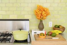 Modern tiles / Kitchen should be fun and colorful