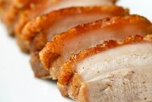 Pork menu / Can do everything with pork in any ocassion
