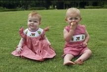 Let's go on a Picnic! / Smocked and applique bishop dresses, john johns, shortalls, and bubbles for children 3M-6 years
