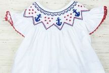 Anchors Away / Adorable Anchor clothing for children 3M-6 years