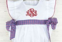 Patriotic Collection / Adorable clothing for children 3M-6 years